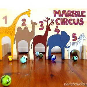Marble Circus- Pinned by @PediaStaff – Please visit http://ht.ly/63sNt for all (hundreds of) our pediatric therapy pins