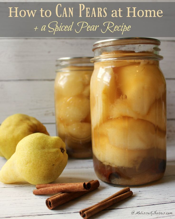 How to can pears, full tutorial and the peeling method is genius! Love the…