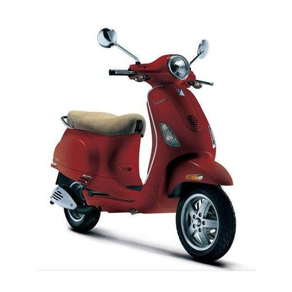 Vespa LX 150 Scooter 2009 | Travel Gadgets | Travelizmo ❤ liked on Polyvore featuring vehicles