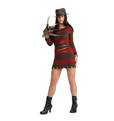 #Costume #Halloween Miss #Freddy #Krueger #Sexy