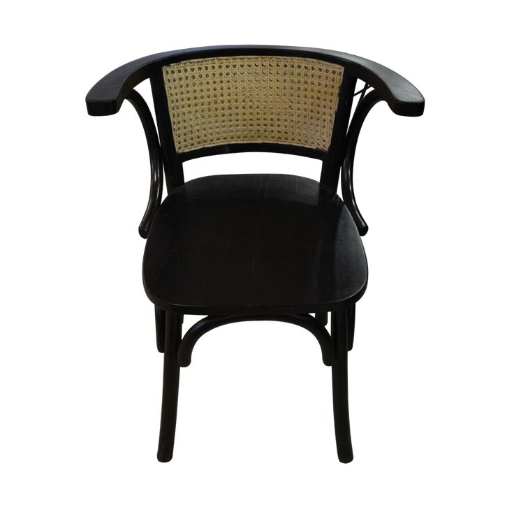 Dining chair - Classy rattan Black. Both stylish and comfortable, our Dining Chair Classy Rattan has a light weight and warm color for a natural look living space.