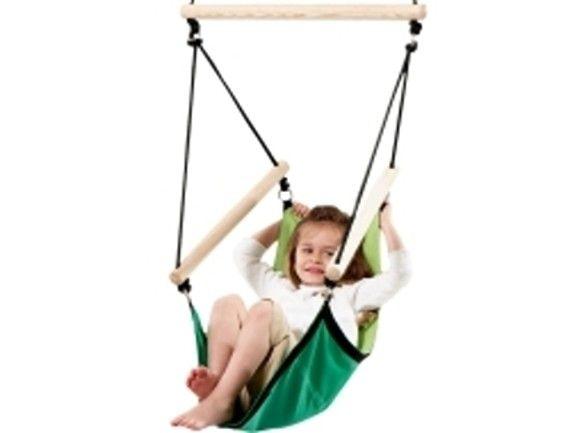 Dětské závěsné křeslo Kids swinger green - Kliknutím zobrazíte detail obrázku.