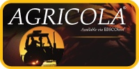 AGRICOLA encompasses all aspects of agriculture and allied disciplines, including animal & veterinary sciences, entomology, plant sciences, forestry, aquaculture & fisheries, farming & farming systems, agricultural economics, extension & education, food & human nutrition, agricultural engineering & technology, and earth & environmental sciences. This is a subscription database available through your library and Texshare. Access it from home with a password from your library.