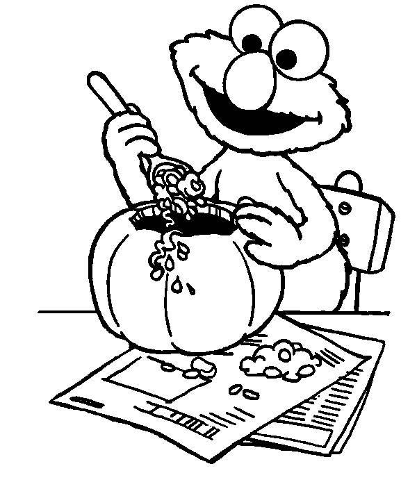 67 best Sesame Street Coloring Pages images on Pinterest Sesame