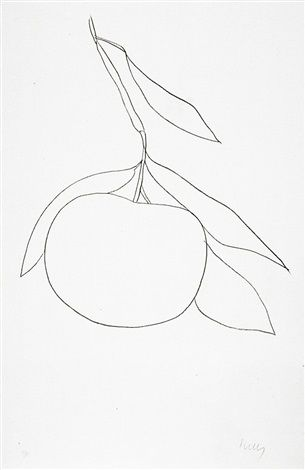 Grapefruit (Pamplemousse) (Axsom 33) by Ellsworth Kelly