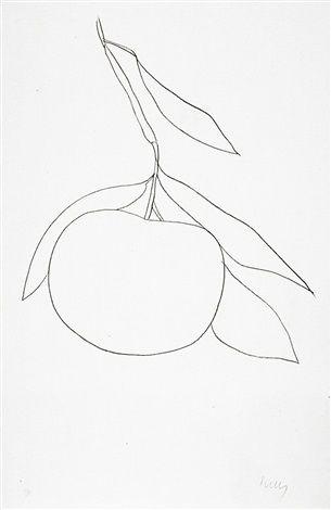 Grapefruit (Pamplemousse) (Axsom 33) by Ellsworth Kelly