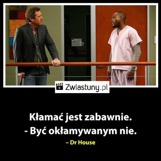 Cytat z Dr. House