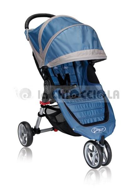 Passeggino Baby Jogger City Mini 3 2013 a 359 €!!  http://www.lachiocciolababy.it/bambino/blue_gray-5567.htm
