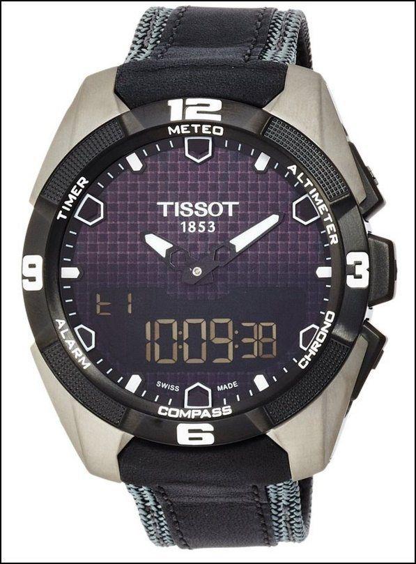 Tissot T0914204605101 T Touch Expert Watch Review Unique Titanium Timepiece Tissot T Touch Tissot Mens Watch Tissot Watches