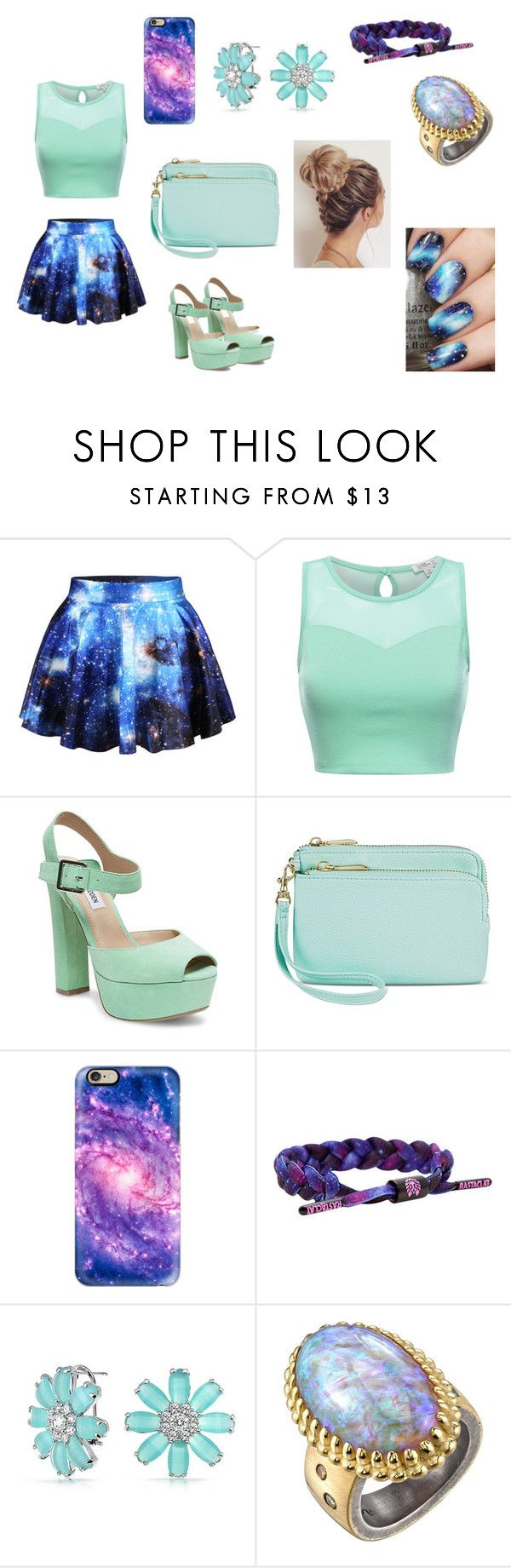 """""""bn"""" by aiste-mini on Polyvore featuring Steve Madden, Merona, Casetify, Rastaclat, Bling Jewelry and Michael Barin"""