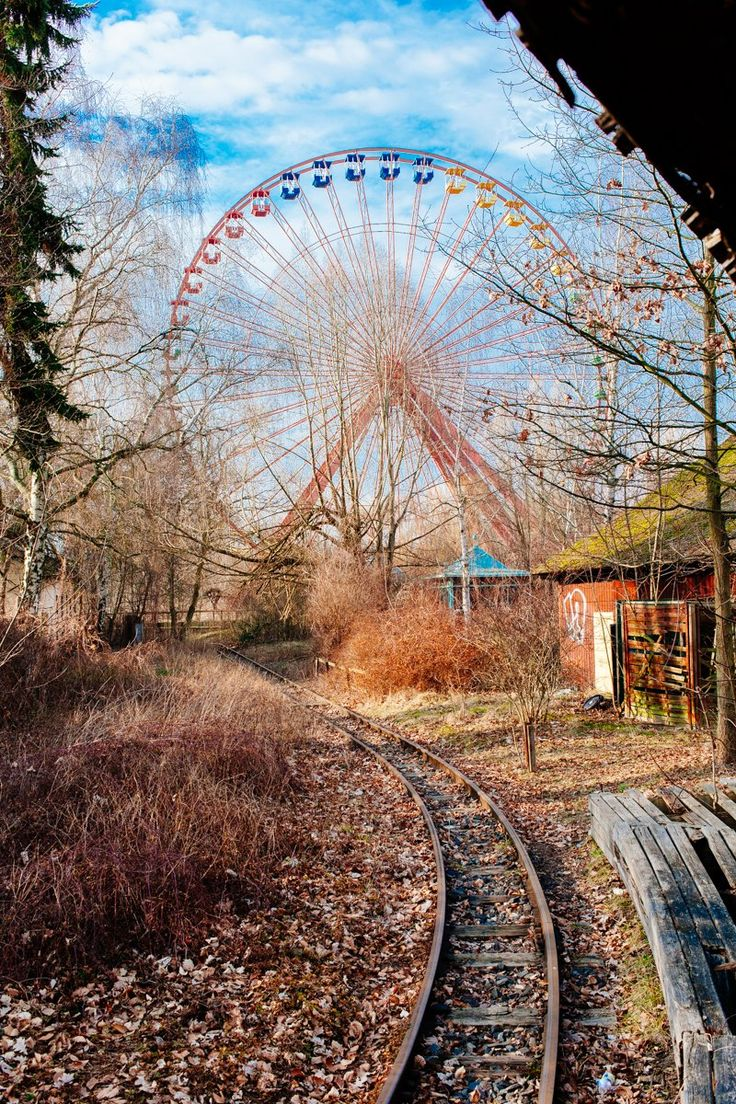 Spreepark, such a creepy and cool place to visit!! http://www.amazon.com/dp/B011PJDBU0