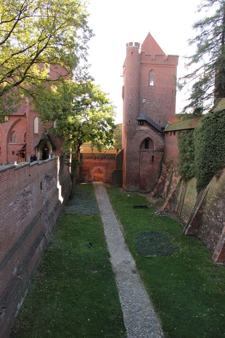 Crusader castle in Malbork.