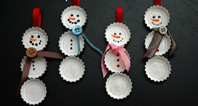 Could make during thanksgiving to decorate Gmas for Christmas present time, then can take home to put on own tree