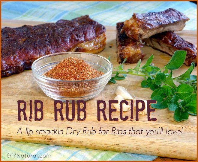 Rub recipes for pork ribs