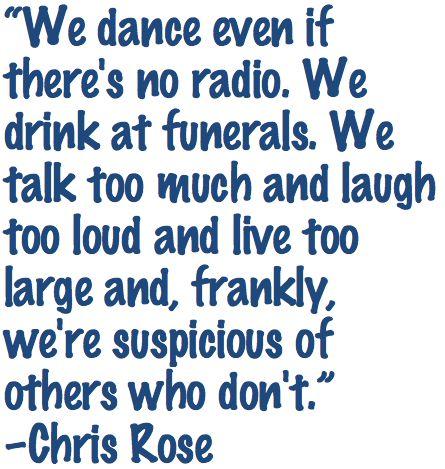 Chris Rose, New Orleans