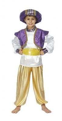 Boys #childrens aladdin genie #fancy dress #costume middle east book week,  View more on the LINK: http://www.zeppy.io/product/gb/2/252647812877/