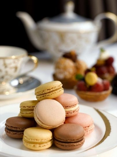 Tea time… with French macarons! - Comtesse du Chocolat