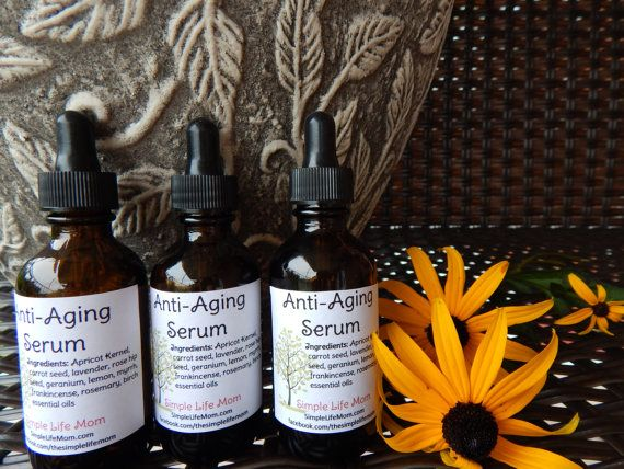Anti-Aging Serum with 10 Essential Oils by Simple Life Mom