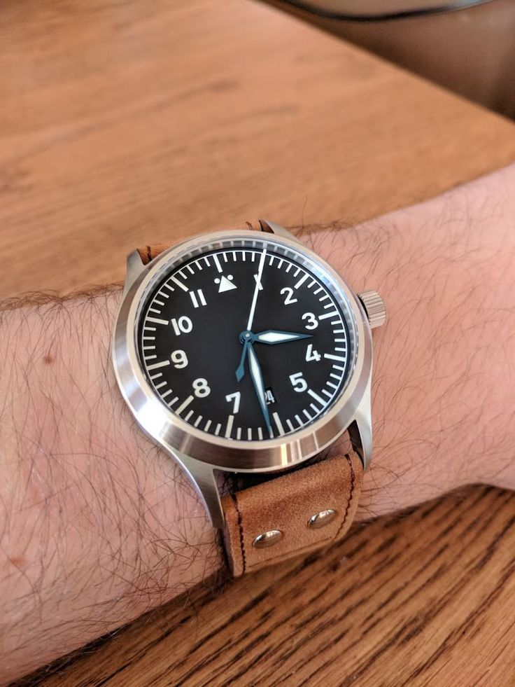 [Stowa] New Watch Day Flieger Klassik Sport http://ift.tt/2A45sMv