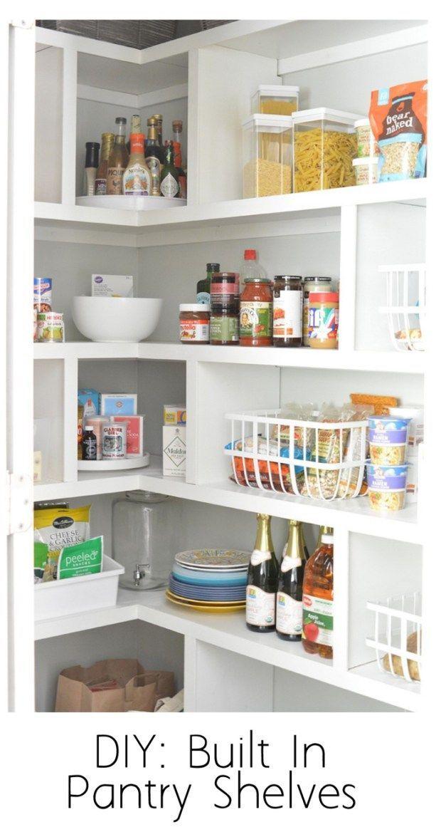 Diy Pantry Shelves Pantryshelving Diy Pantry Shelves Pantry Shelving Pantry Shelf
