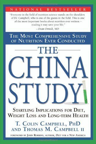 The China Study: The Most Comprehensive Study of Nutrition Ever Conducted And the Startling Implications for Diet, Weight Loss, And Long-term Health by T. Colin Campbell, http://www.amazon.com/dp/1932100660/ref=cm_sw_r_pi_dp_6jdxrb0PVR8RQ