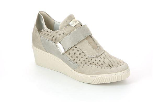 Sneaker da donna in pelle beige - CURI SC3288 COLORE CORDA | Grünland ®