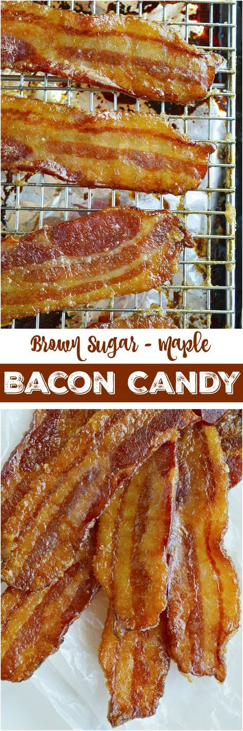 Sugary sweet bacon is the ultimate indulgent treat! This Brown Sugar Maple Bacon Recipe has the best of sweet and salty. Candied bacon will change your life! It is that good. #bacon wonkywonderful.com