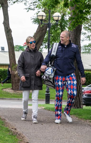 Zara Phillips Photos Photos - Zara Phillips and Mike Tindall....attends Mike Tindall celebrity golf classic 2016 on May 20, 2016 in Sutton Coldfield, United Kingdom. - Mike Tindall Celebrity Golf Classic 2016