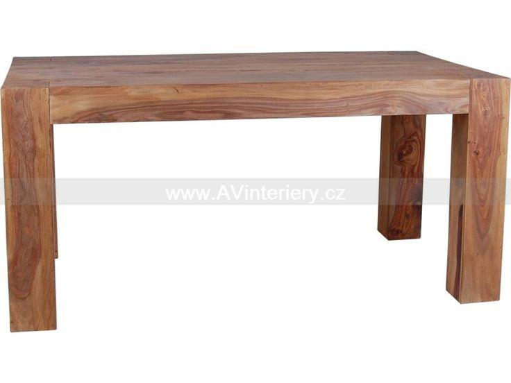 Jídelní stůl Mumba WDUM-DTvelký, indický nábytek | AV interiéry