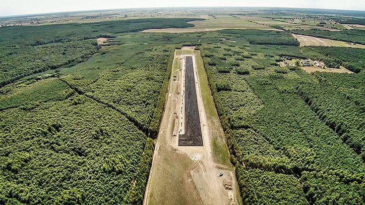 Pas startowy lądowiska leśnego z geoSYSTEM G4