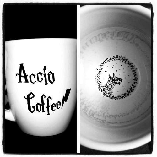 Harry potter coffee mug. I need this