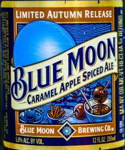 I wonder if Andy would like this ... Blue Moon Caramel Apple Spiced Ale