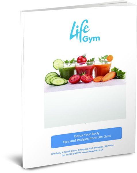 A free e-book designed to give you Detox tips to help to get your body in shape along with a host of detoxicating recipes.   www.lifegyms.co.uk
