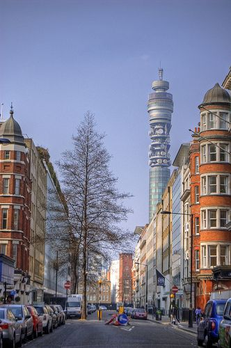 BT Tower, London.. I miss seeing this everyday! Wish I was back in London!