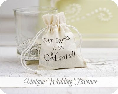 Wedding Favours - Wedding Favour Ideas - Bridal Party Gifts