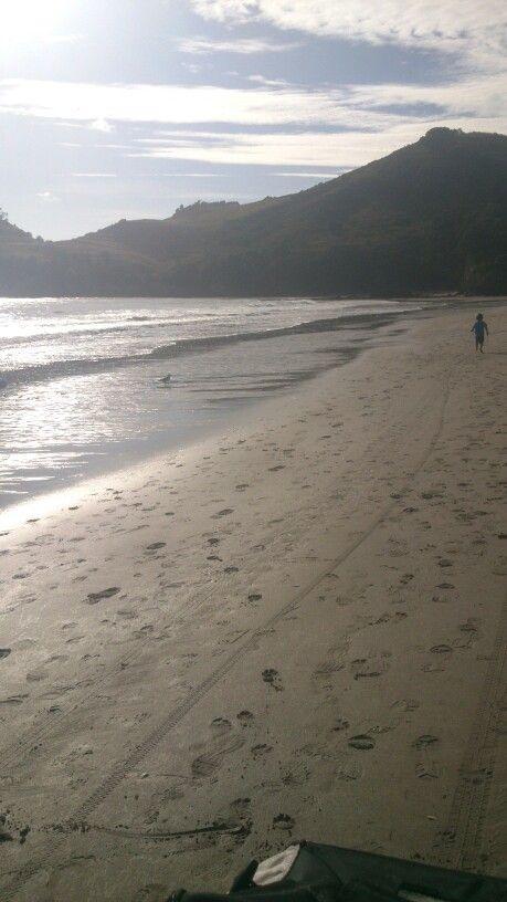 7am -  walk along the beach