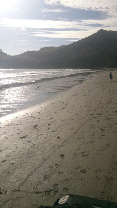 7am -  walk along the beach