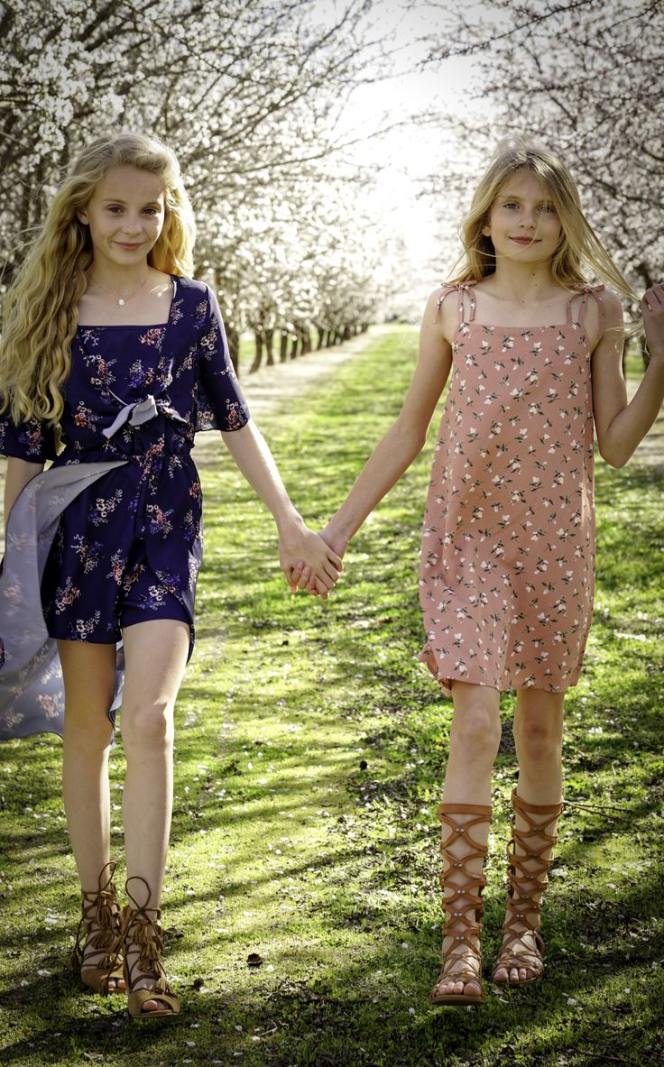 Sweet Spring Girls Tween Teen Spring Fashion Dresses