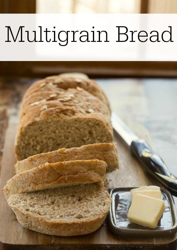 This hearty bread is so easy to make, and it's full of healthy ingredients like chia seeds and whole wheat flour.