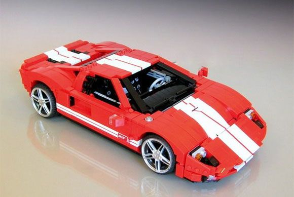 Lego artist creates jaw-dropping four-wheeled creations