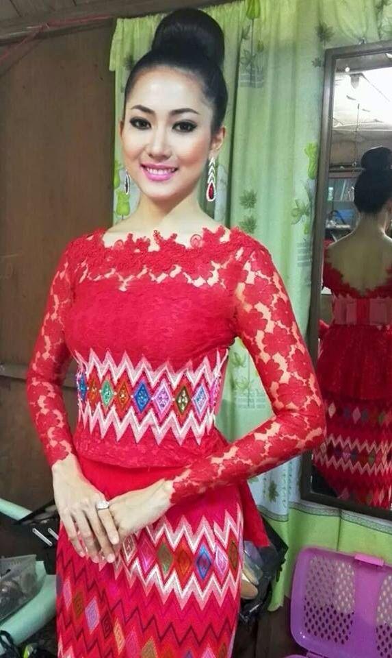 Kachin cotton & lace
