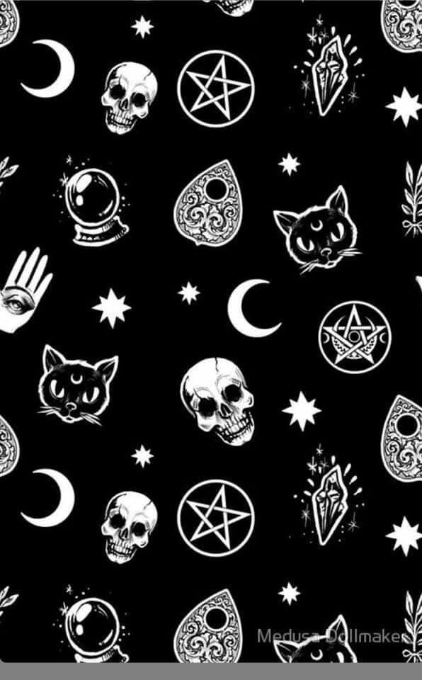 Pin By Cheryl Nalepa Kemp On Craft Alter Print Witchy Wallpaper Witch Wallpaper Halloween Wallpaper Iphone