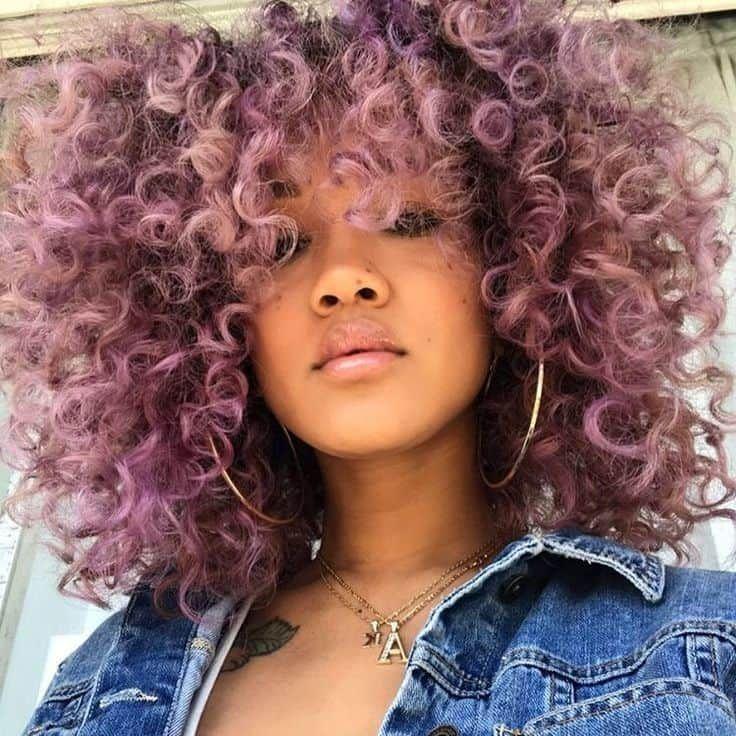30 Crazy Curly Hair Colors For Confident Women Hairstylecamp Colored Curly Hair Crazy Curly Hair Hair Styles