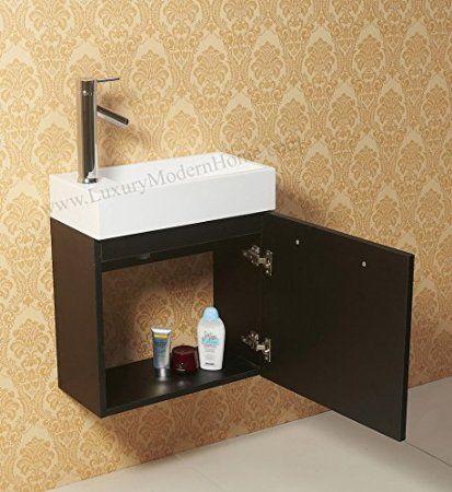 """vanity sink - 20"""" alexius small vanity sink - 20 inch"""