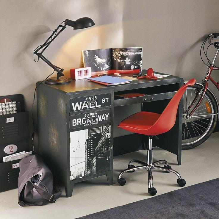 Scrivania industriale  WALL STREET Per la camera di mio figlio.