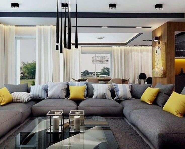 65 best Wohnzimmer grau/gelb images on Pinterest | Grau gelb ...
