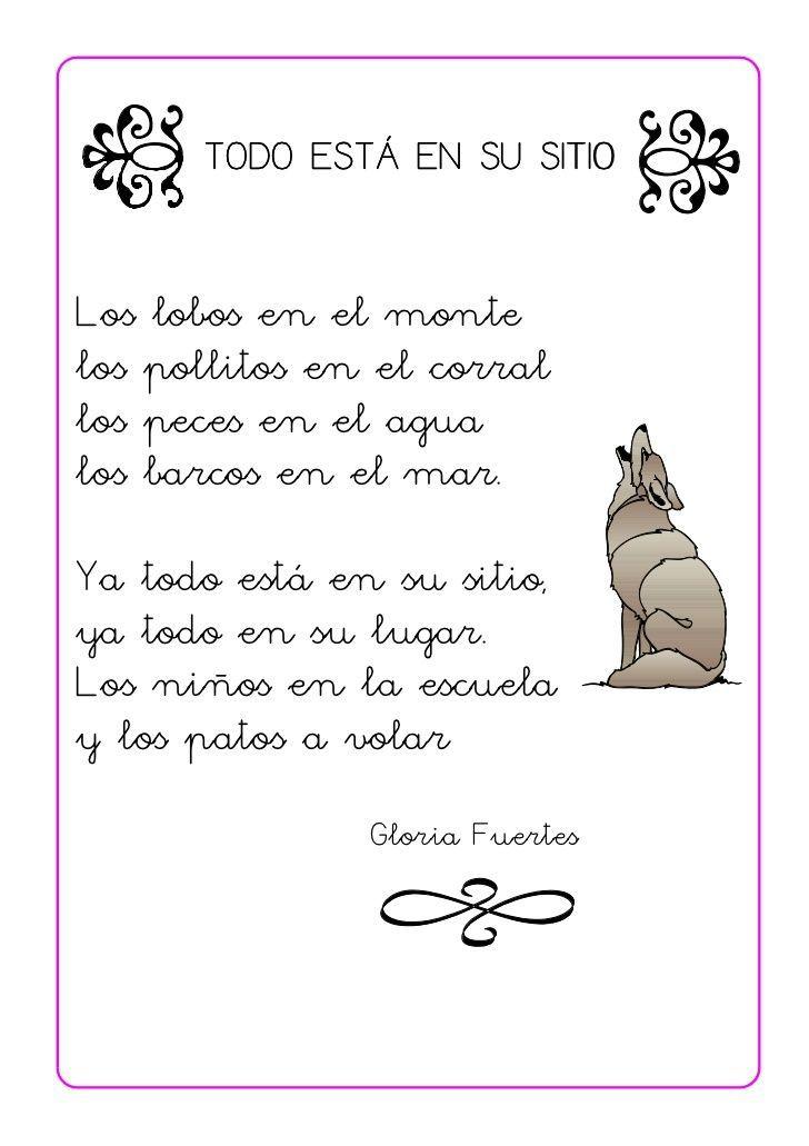 Poesías Para Niños De 5 A 7 Años Poesía Para Niños Poemas Para Niños Poemas Infantiles