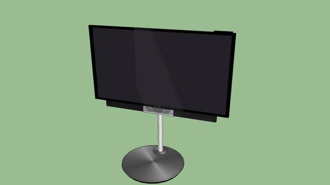 "Large preview of 3D Model of Bang & Olufsen BeoVision Avant 55"" 4K UHD TV"