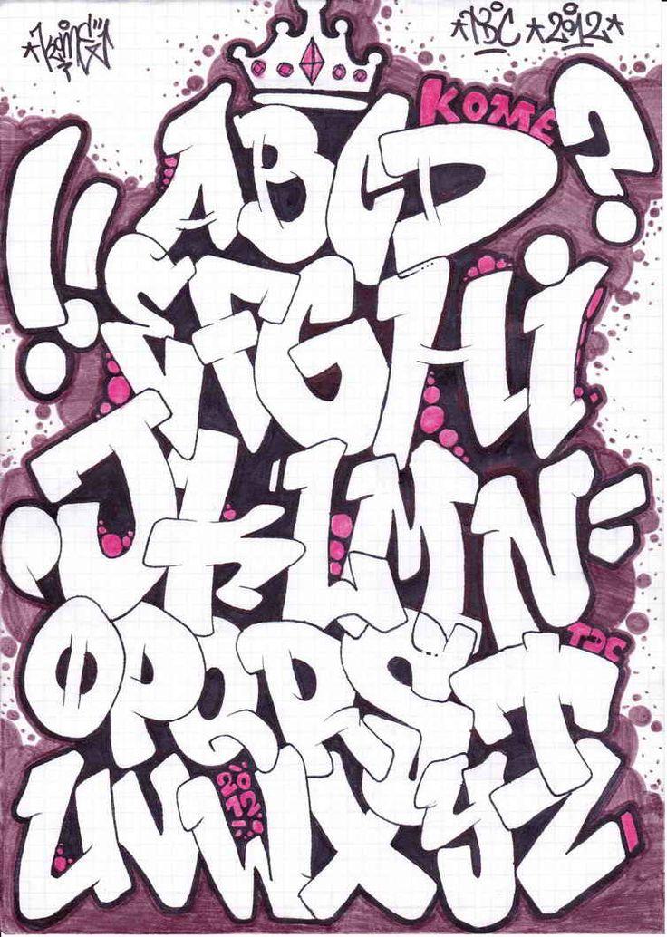 graffiti letras - Buscar con Google