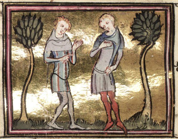Time Traveling with Needles: Men's 14th Century Cotehardie and Hose